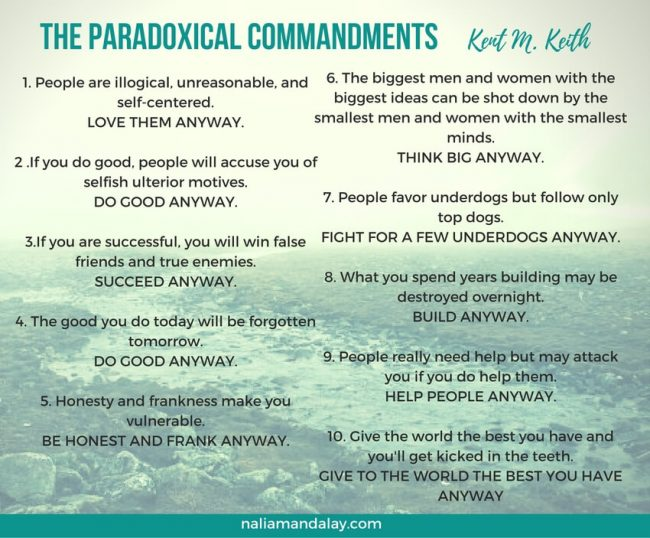 the paradoxical commandments-keith-m-keth