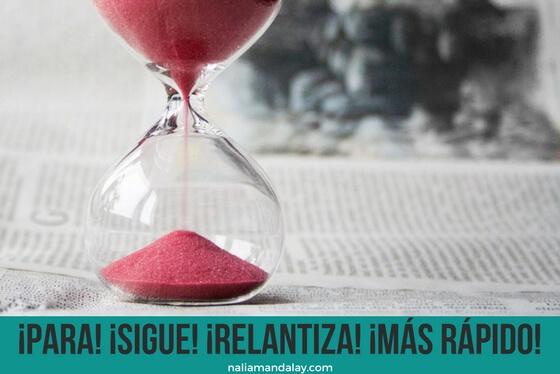 El control del tiempo, esa ilusión…