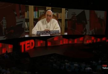 Papa Francisco charla TEDX