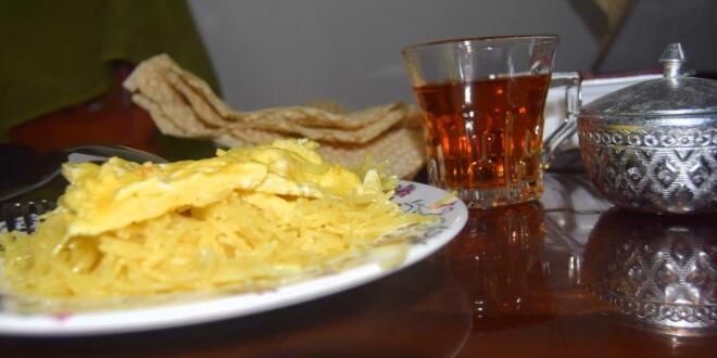 desayuno de arroz dulce