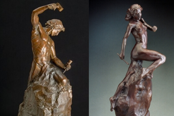 27-escultura-self made man and woman