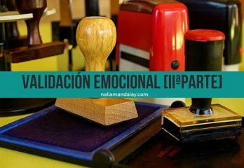 62 validación emocional ejercicios