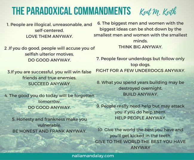 the paradoxical commandments-keith-m-keth